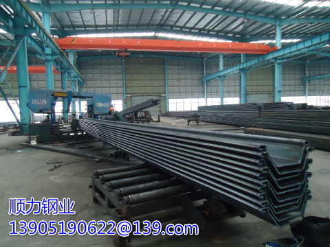 Advantages of prefabricated sheet pile