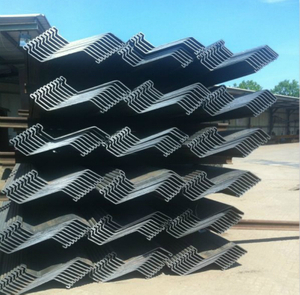 Different Specifications Cold Formed Z Sheet Pile