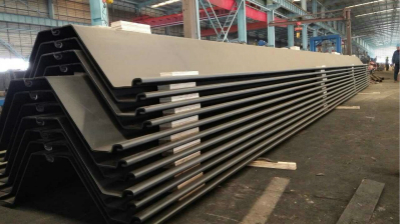 What are the applications of steel sheet piles in metro?
