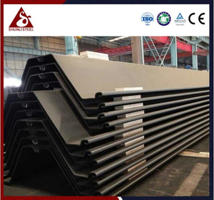 Permanent Quay Wall Z Type Steel Sheet Piling