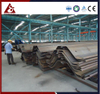 Permanent Cold-formed Metal Z Sheet Pile