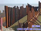 How to calculate the cost of steel sheet piles works