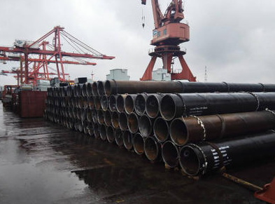SSAW pipe piles